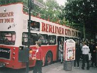 Berlin tourist bus